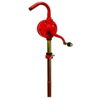 red cast iron pump