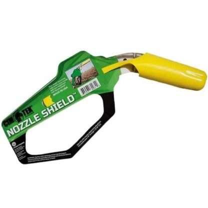 yellow nozzle shield