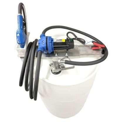 DEF pump mounted on a DEF drum