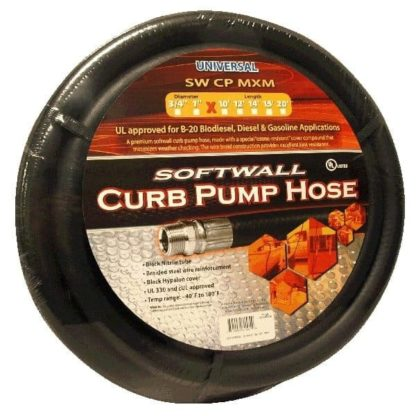 full roll of curb pump softwall hose