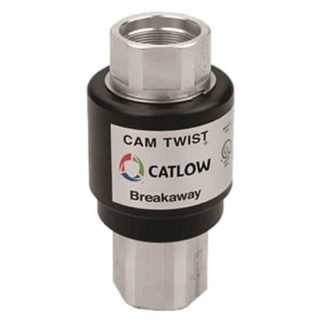 cam twist breakaway fitting