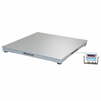Brecknell deck scale with digital meter