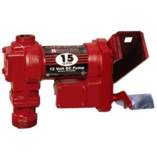 red fill-rite 15 gallon fuel pump