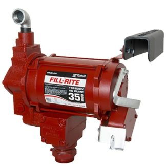 red fill-rite 35 gallon fuel pump