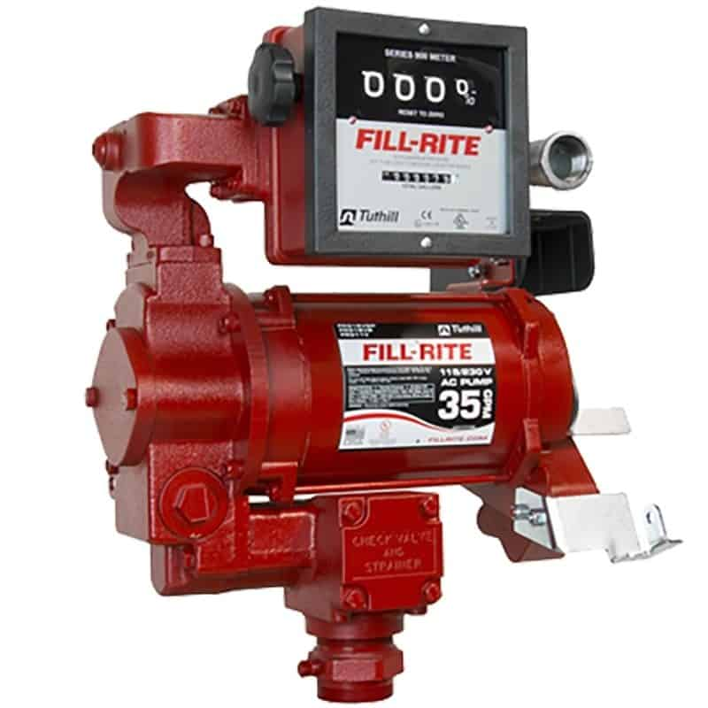35 gallon fuel pump and meter