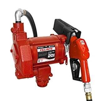 red fill-rite 20 gallon fuel pump