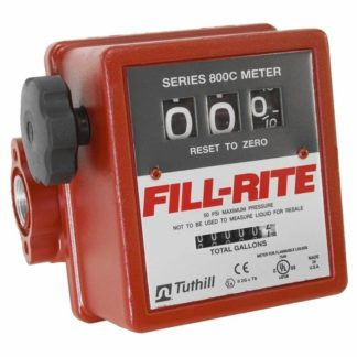fill-rite mechanical flow meter