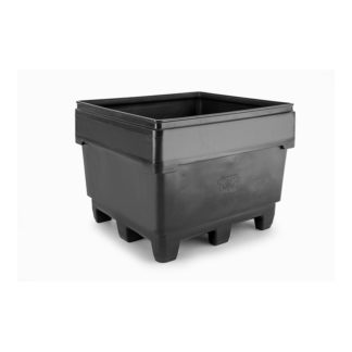 large black spill container