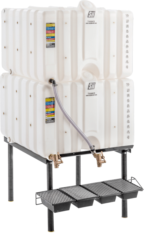 oil stacker cubetainer