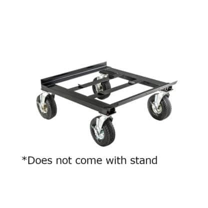 Black Rolling Cart